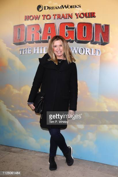 Tina Hobley attends How To Train Your Dragon The Hidden World – Immersive Screening on January 26 2019 in London England