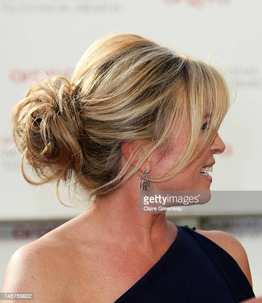 Tina Hobley attends The Arqiva British Academy Television Awards 2012 at The Royal Festival Hall on May 27 2012 in London England