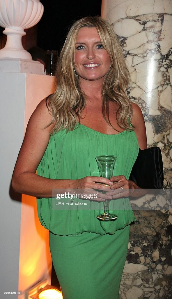 Tina Hobley attends the F1 Party In Aid Of Great Ormond Street at Victoria & Albert Museum on June 17, 2009 in London, England.