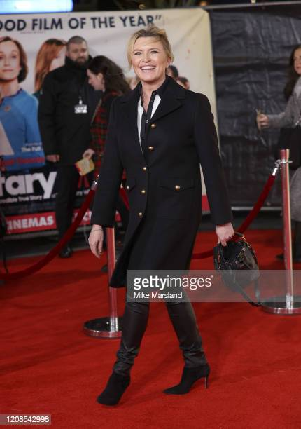 Tina Hobley attends the Military Wives UK Premiere at Cineworld Leicester Square on February 24 2020 in London England