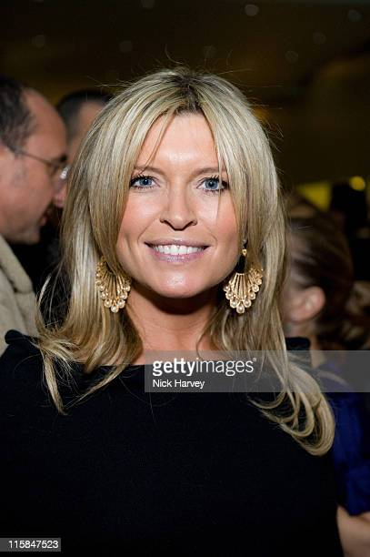 Tina Hobley attends the Prada Christmas Cocktail Party at the Prada Store Bond Street on December 13 2007 in London England