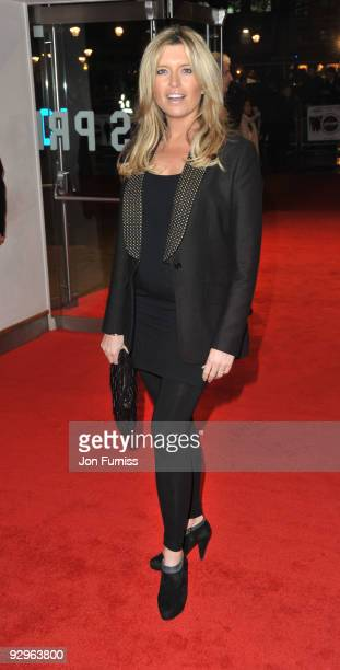 Tina Hobley attends the UK Premiere of 'Harry Brown' at Odeon Leicester Square on November 10 2009 in London England