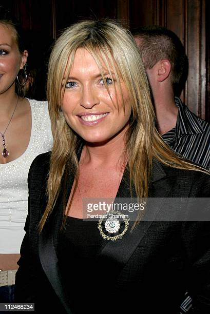 Tina Hobley during Aimee Butler's Fashion Show at London UK in London Great Britain