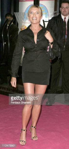 Tina Hobley during Legally Blonde 2 Red White Blonde London Premiere Arrivals at Warner Cinema Leciester Square in London Great Britain