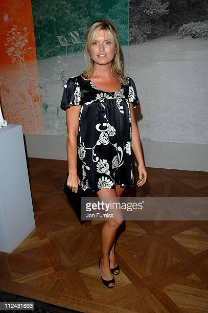 Tina Hobley during Royal Academy Summer Exhibition 2007 VIP Private View Inside at Royal Academy of Arts in London Great Britain