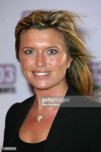 Tina Hobley during The Best of 2003 TV Moments Arrivals at BBC Television Centre in London Great Britain