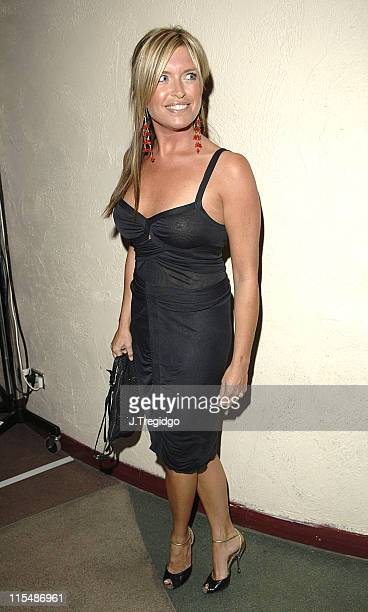 Tina Hobley during The Rushes Soho Short Film Festival Awards Party at cc Club in London Great Britain