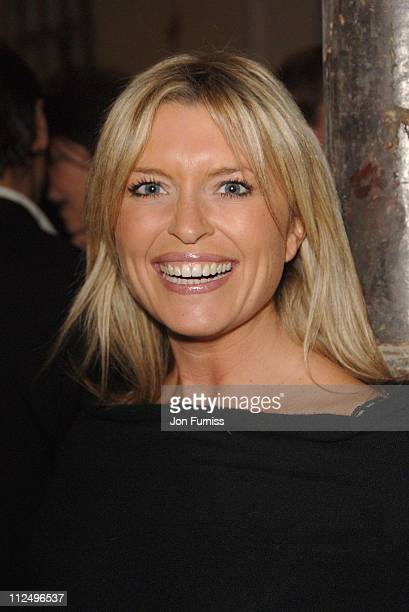 Tina Hobley during Tom Aitken launches 'Tom's Kitchen' in Chelsea in London Great Britain