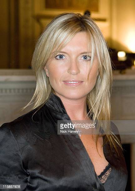Tina Hobley during Westfield London Celebrates BFC Fashion Forward Party Inside at Home House in London Great Britain