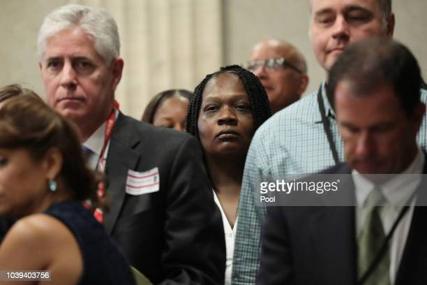 Tammy Wendt attorney for Chicago police Officer Jason Van Dyke approaches the bench at the start of day five of Van Dyke's murder trial at the...