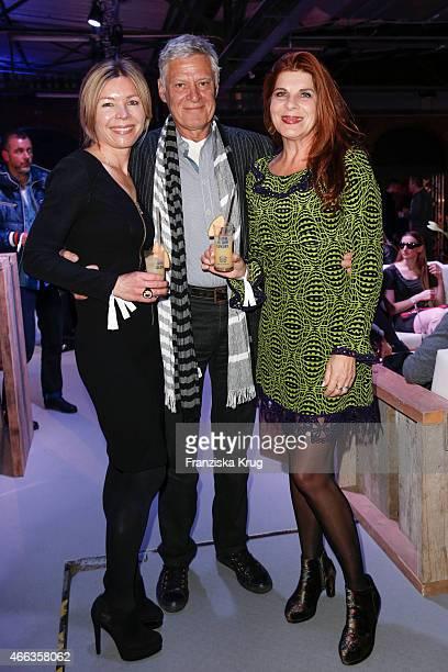 Tina IngwersenMatthiesen Ruediger Joswig and Claudia Wenzel attend the Spirit of Istanbul by Yeni Raki on March 14 2015 in Berlin Germany