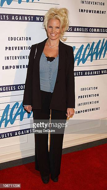 Tina Jordan during LA Commission on Assaults Against Women Hosts its 31st Annual Humanitarian Awards at Fairmont Miramar Hotel in Santa Monica...