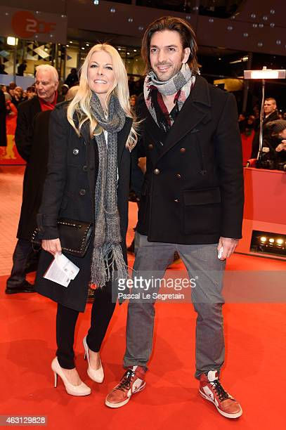 Tina Kaiser and her boyfriend Max Wiedemann attend the 'Every Thing Will Be Fine' premiere during the 65th Berlinale International Film Festival at...