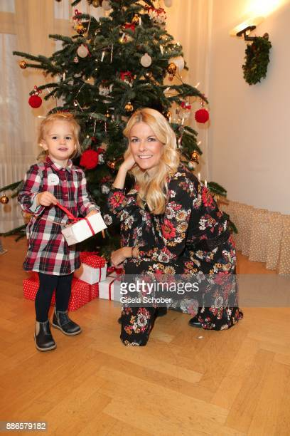 Tina Kaiser and her daughter Liv Kaiser during the Happy Nikolaus event hosted by NICKI'Scom and Madame at Prisco Haus on December 5 2017 in Munich...