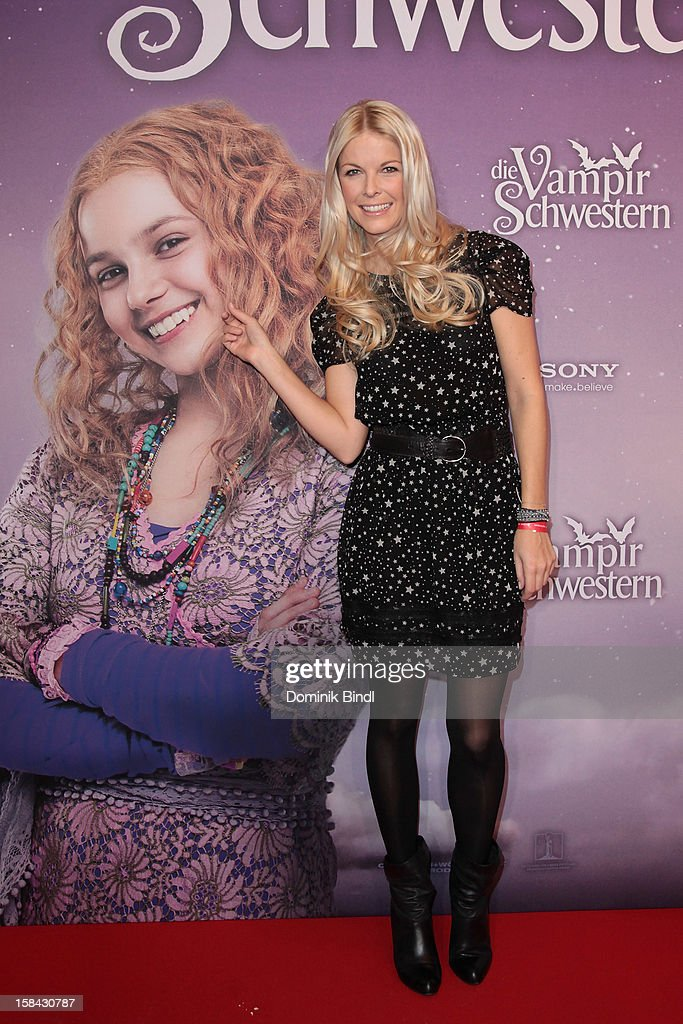 Tina Kaiser attends the 'Die Vampirschwestern' Germany Premiere on December 16, 2012 in Munich, Germany.