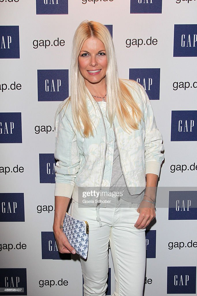 Tina Kaiser attends the GAP Pop-Up Shop Opening on May 7, 2014 in Munich, Germany.