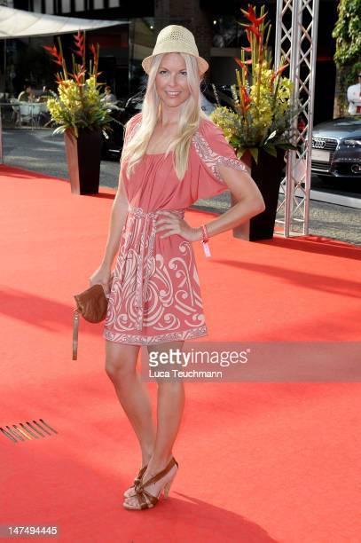 Tina Kaiser attends the premiere Ferdinand Von Schirach Verbrechen' on June 30 2012 in Munich Germany