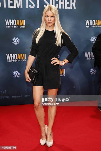 Tina Kaiser attends the premiere of the film 'Who am I' at Zoo Palast on September 23 2014 in Berlin Germany