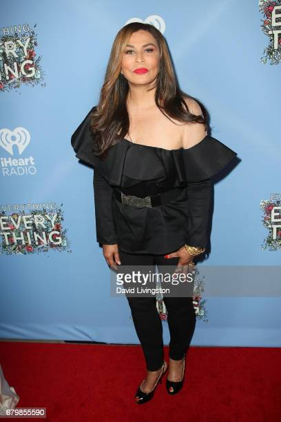 Tina Knowles attends the screening of Warner Bros Pictures' 'Everything Everything' at the TCL Chinese Theatre on May 6 2017 in Hollywood California