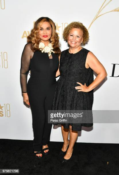 Tina Knowles Lawson and Debra Lee attend the Debra Lee PreBET Awards Dinner at Vibiana on June 20 2018 in Los Angeles California