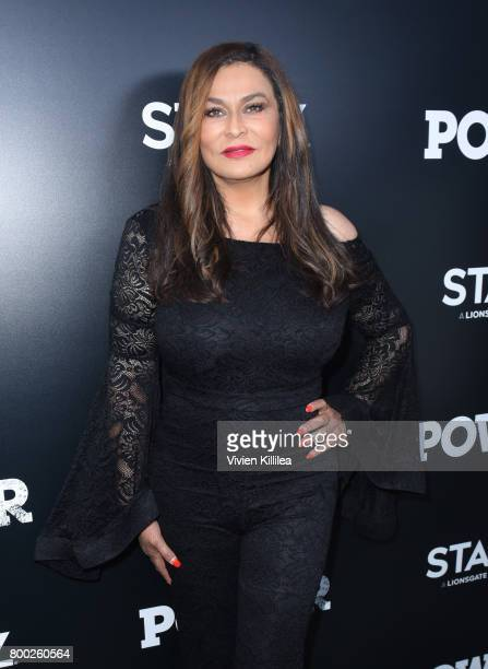 Tina Knowles Lawson attends STARZ 'Power' Season 4 LA Screening And Party at The London West Hollywood on June 23 2017 in West Hollywood California