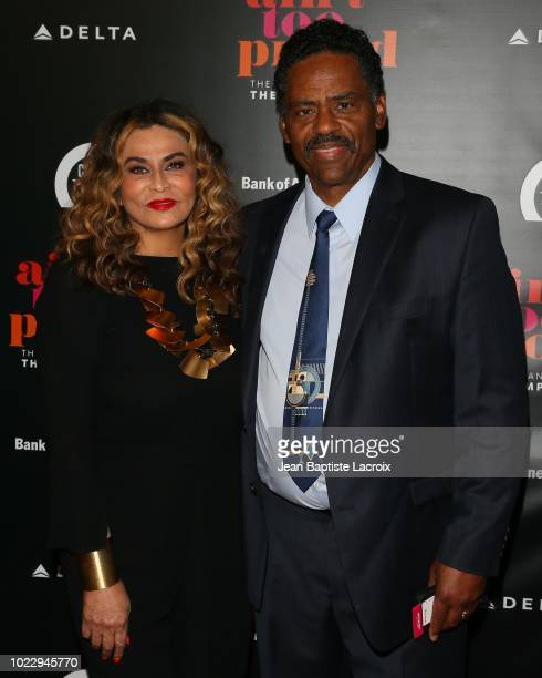 Tina Knowles Lawson attends the Opening Night of 'Ain't Too Proud The Life And Times Of The Temptations' at the Ahmanson Theatre on August 24 2018 in...