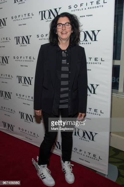 Tina Landau attends the 2018 Tony Honors For Excellence In The Theatre and 2018 Special Award Recipients Cocktail Party at the Sofitel Hotel on June...