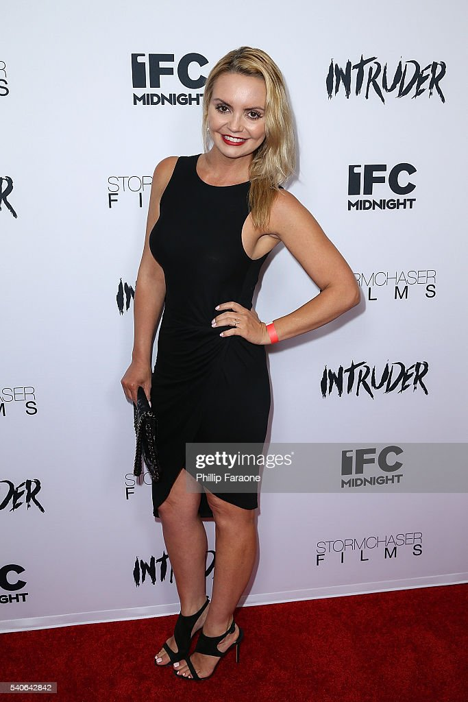 Tina Lee attends the premiere of IFC Midnight's 'Intruder' at Regency Bruin Theater on June 15, 2016 in Westwood, California.