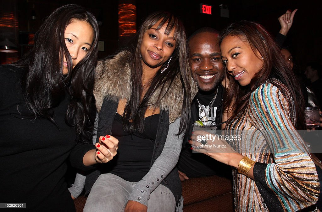 Tina Lee, Keesha Johnson, Wouri Vice, and Sari Baez attend Sari Baez's Birthday celebration at Marquee on November 30, 2009 in New York City.