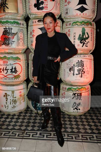 Tina Leung attends the Kenzo show as part of the Paris Fashion Week Womenswear Spring/Summer 2018 on September 27 2017 in Paris France