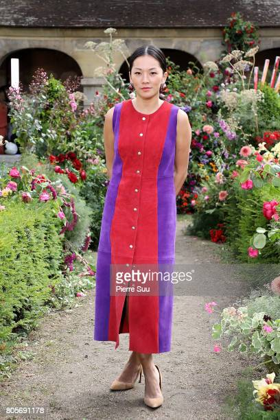 Tina Leung attends the Rodarte Haute Couture Fall/Winter 2017-2018 show as part of Haute Couture Paris Fashion Week on July 2, 2017 in Paris, France.