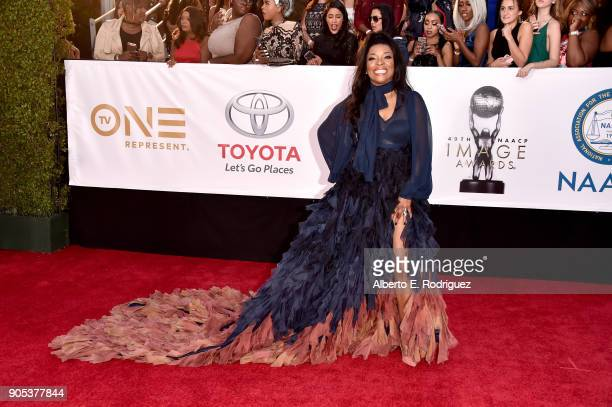 Tina Lifford attends the 49th NAACP Image Awards at Pasadena Civic Auditorium on January 15 2018 in Pasadena California