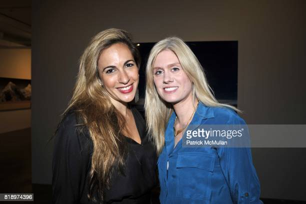 Tina Livanos and Kate Mahon attend Active Liberty Institute presents IDENTITIES ART PARTY at Phillips de Pury Company on May 4 2010 in New York City