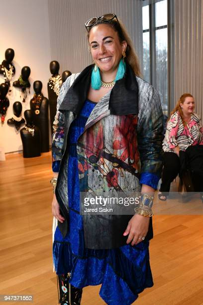 Tina Livanos attends The Museum of Arts and Design Presents LOOT: MAD About Jewelry on April 16, 2018 at the Museum Of Arts And Design in New York...