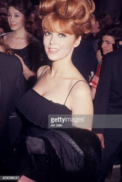 Tina Louise attending a formal event circa 1970 New York