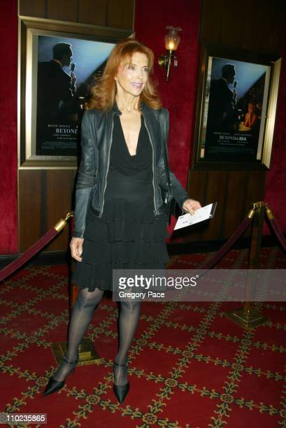 Tina Louise during Beyond The Sea New York Premiere Arrivals at Ziegfield Theater in New York City New York United States