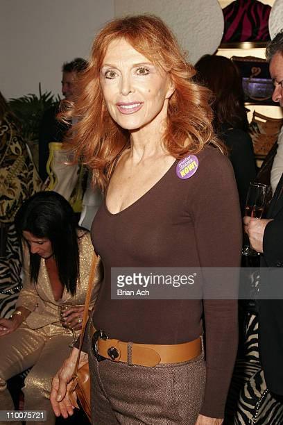 Tina Louise during Private Shopping Party Benefiting Breast Cancer Research June 7 2006 at Beverly Feldman in New York City New York United States