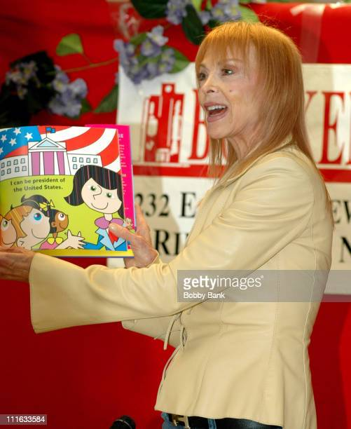 """Tina Louise during Tina Louise Signs Her Book """"When I Grow Up"""" at Bookends in Ridgewood, New Jersey - March 3, 2007 at Bookends Bookstore in..."""