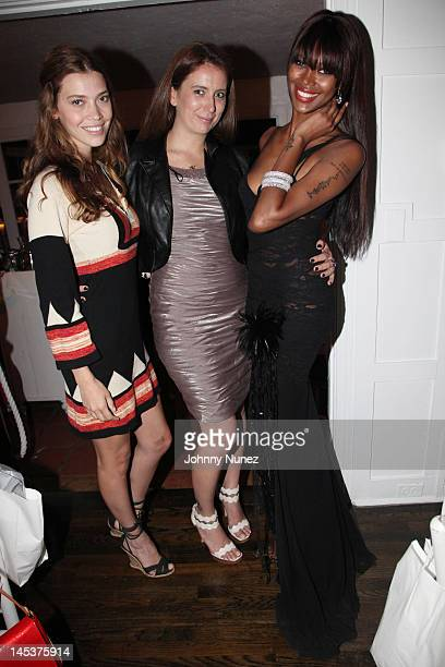 Tina Marie Clark Isabelle Katz and Jessica White attend the 3rd Annual Angel Wings Foundation Dinner at Georgica on May 27 2012 in Wainscott New York
