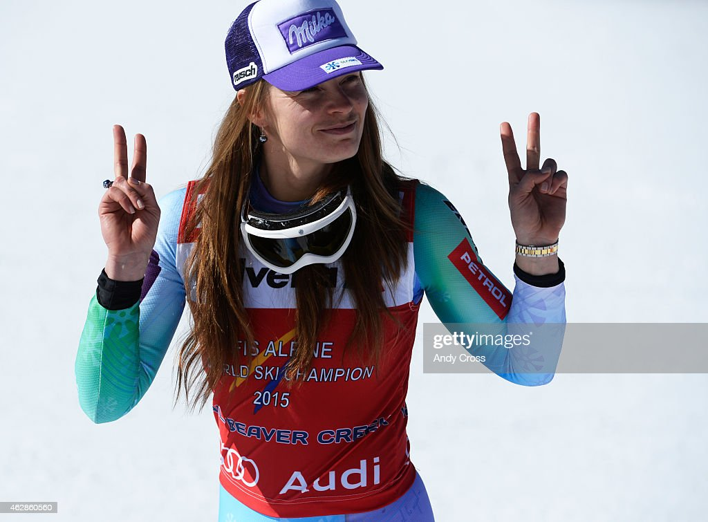 2015 Vail Championships Ladies Downhill : News Photo