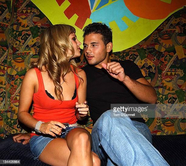 Tina O'Brien and her boyfriend and fellow Coronation Street character Ryan Thomas