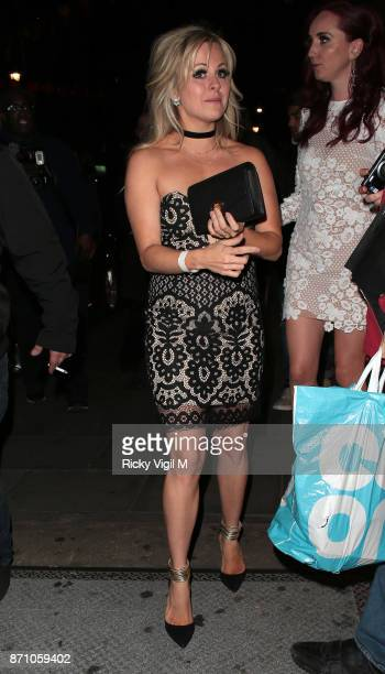 Tina O'Brien attends the Inside Soap Awards held at The Hippodrome on November 6 2017 in London England