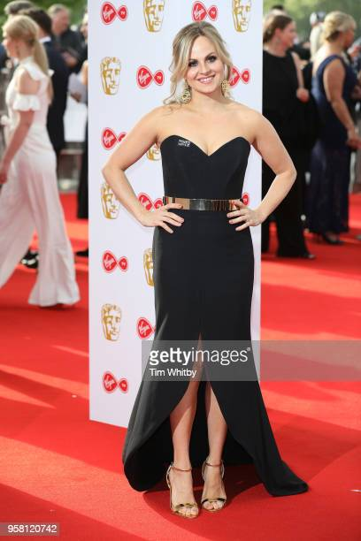 Tina O'Brien attends the Virgin TV British Academy Television Awards at The Royal Festival Hall on May 13 2018 in London England