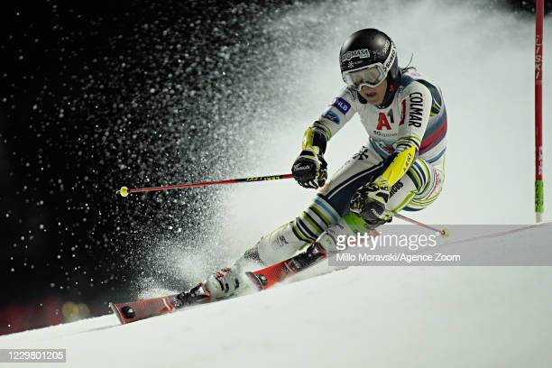 Tina Robnik of Slovenia in action during the Audi FIS Alpine Ski World Cup Women's Parallel Giant Slalom on November 26, 2020 in Lech Austria.