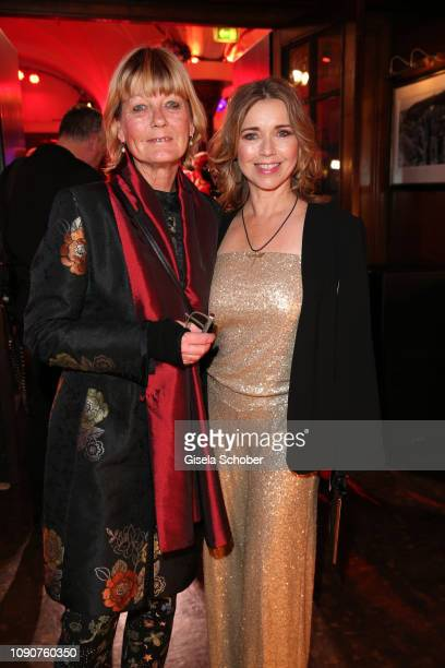 Tina Ruland and her sister Sabine Wilms during the Rockin' Chocolate Lambertz Monday Night 2019 on January 28 2019 in Cologne Germany