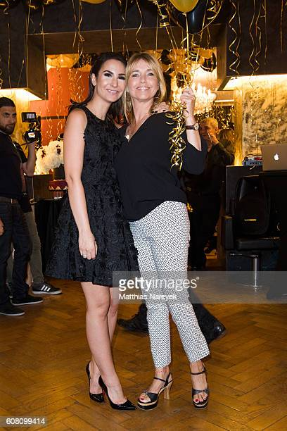 Tina Ruland and Sila Sahin during the Kokosh first anniversary celebration on September 19 2016 in Berlin Germany