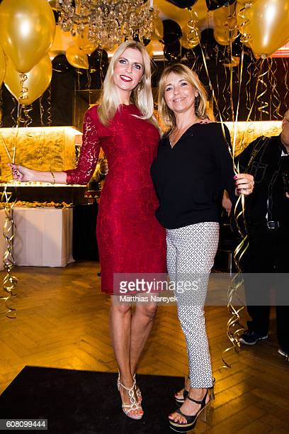 Tina Ruland and Tanja Buelter during the Kokosh first anniversary celebration on September 19 2016 in Berlin Germany