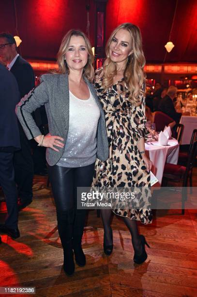 Tina Ruland and Xenia Seeberg attend the Palazzo gala premiere at PalazzoSpiegelpalast on November 13 2019 in Berlin Germany