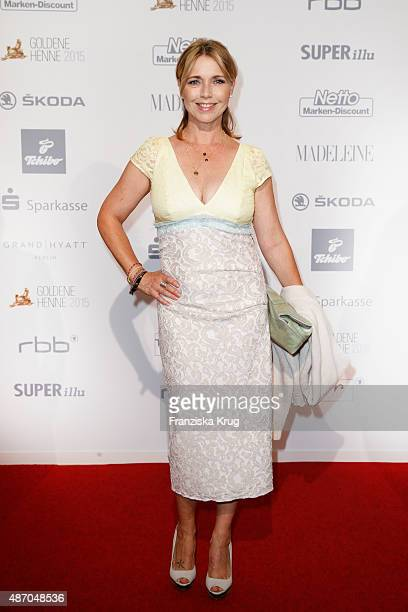 Tina Ruland attends Madeleine At Goldene Henne 2015 on September 05 2015 in Berlin Germany