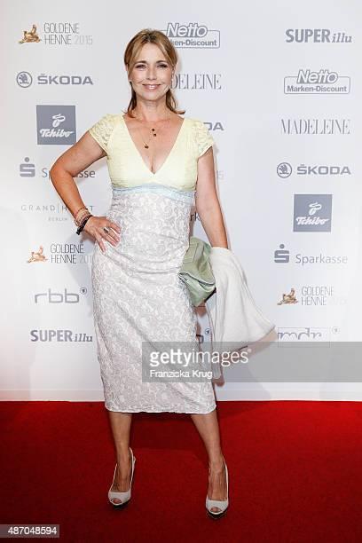 Tina Ruland attends Madeleine At Goldene Henne 2015 on September 05 2015 in Berlin Germany